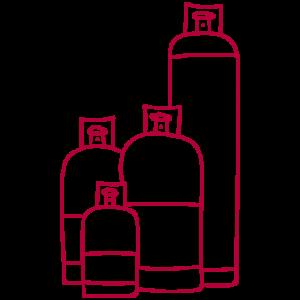 propaan gasflessen